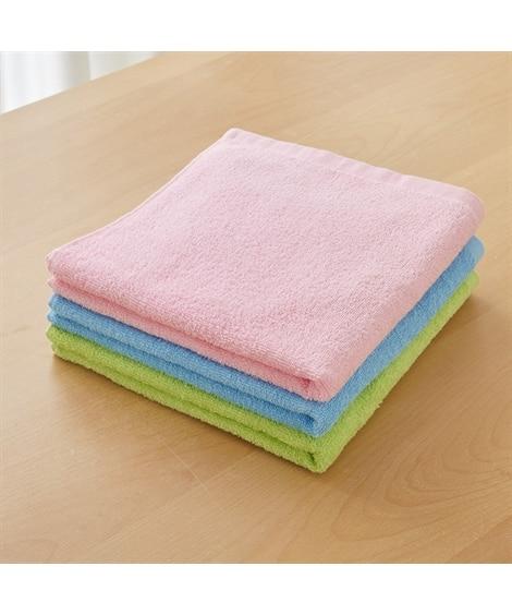 カラーミニバスタオル3枚セット バスタオル, Towels(...