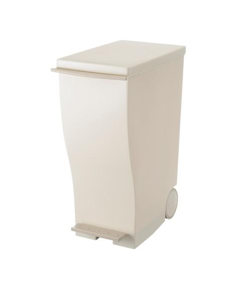 【荷造送料0円実施中】キャスター付きスリムダストボックス ゴミ箱・ダストボックス, Garbage cans(ニッセン、nissen)