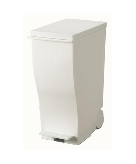 【荷造送料0円実施中】キャスター付きスリムダストボックス(モノトーン) ゴミ箱・ダストボックス, Garbage cans(ニッセン、nissen)