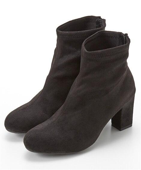 ストレッチショートブーツ ブーツ・ブーティ, Boots, ...