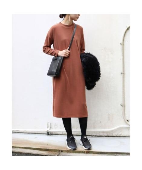 カットソーロングワンピース (ワンピース)Dress, ?衣...