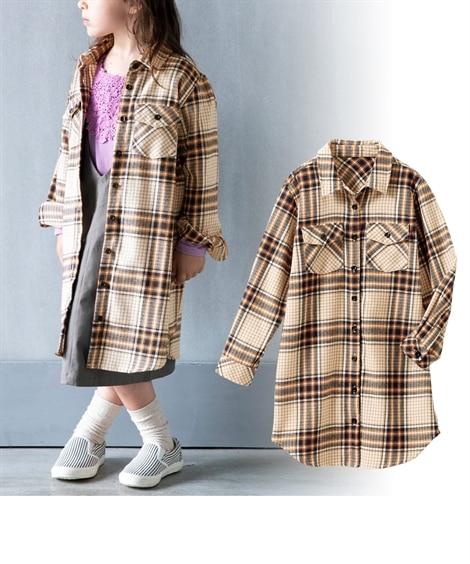 シャツワンピース(女の子 子供服・ジュニア服) ワンピース, Kids' Dress