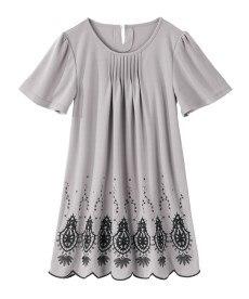 <ニッセン> クルーネックノースリーブカットソートップス (Tシャツ・カットソー)(レディース)T-shirts 4