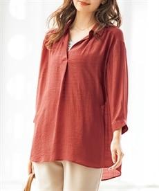 <ニッセン> クルーネックノースリーブカットソートップス (Tシャツ・カットソー)(レディース)T-shirts 16