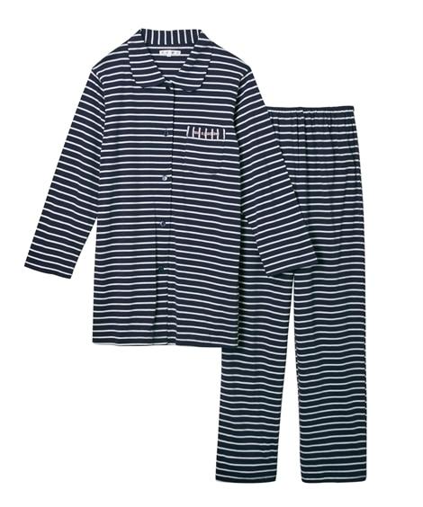 【WEB限定】夏の綿100%パジャマ 薄手がうれしい着丈長め...