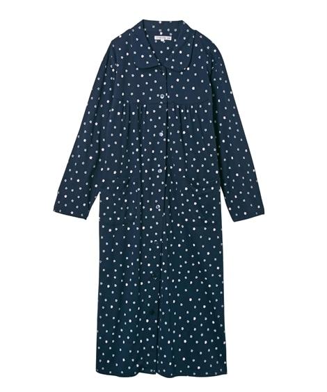 【WEB限定】夏の綿100%パジャマ 薄手がうれしい長袖シャ...