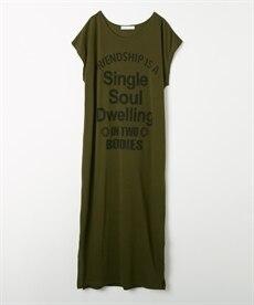 <ニッセン> ロングTシャツワンピース(クルーネック) (ワンピース)dress 2