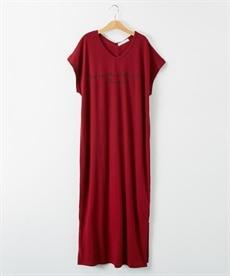 <ニッセン> ロングTシャツワンピース(クルーネック) (ワンピース)dress 23