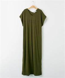 <ニッセン> ロングTシャツワンピース(クルーネック) (ワンピース)dress 26