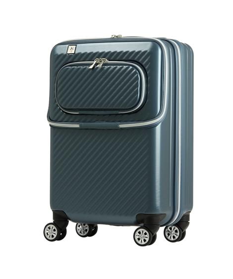 6024-48 ダブルフロントオープン機能ハードキャリーケース 34L レジェンドウォーカー LEGEND WALKER スーツケース(旅行バッグ) Bags