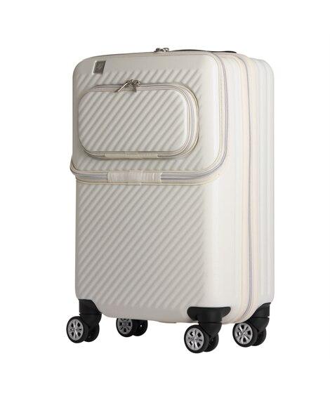 6024-55 ダブルフロントオープン機能ハードキャリーケース 50L レジェンドウォーカー LEGEND WALKER スーツケース(旅行バッグ) Bags