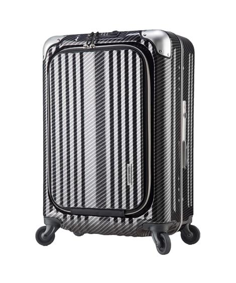 6203-50 ビジネス仕様フロントポケット縦型スーツケース...
