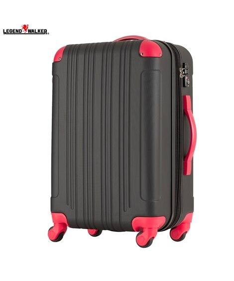 5107-55 拡張機能付き表面エンボス加工ファスナータイプスーツケース レジェンドウォーカー LEGEND WALKER スーツケース(旅行バッグ) Bags
