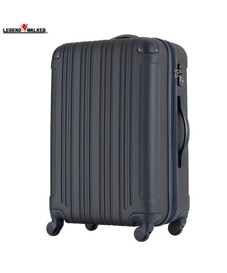 5107-60 拡張機能付き表面エンボス加工ファスナータイプスーツケース レジェンドウォーカー LEGEND WALKER スーツケース(旅行バッグ) Bags