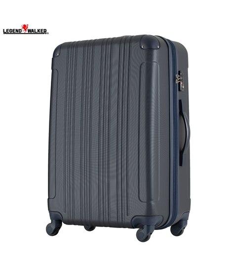 5107-67 拡張機能付き表面エンボス加工ファスナータイプスーツケース レジェンドウォーカー LEGEND WALKER スーツケース(旅行バッグ) Bags