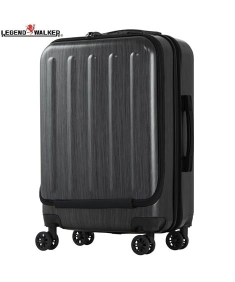 5403-55 フロントオープンポケット搭載ファスナータイプスーツケース レジェンドウォーカー LEGEND WALKER スーツケース(旅行バッグ) Bags