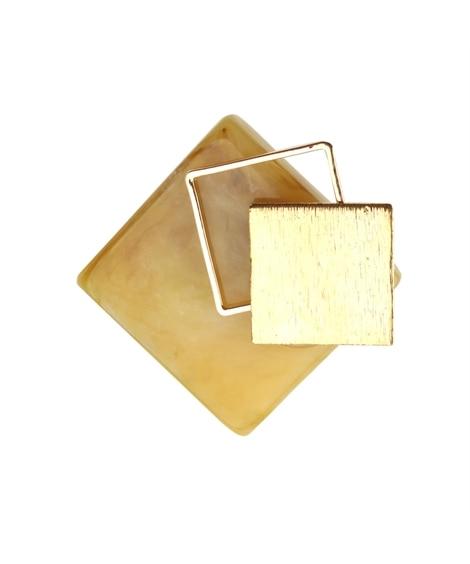 【Creamdot.】ニュアンスカラーのマーブル柄×メタルポ...