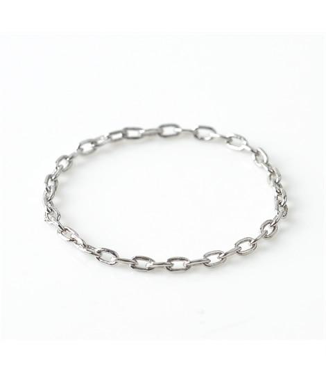 【Creamdot.】繊細なディテールが光る、華奢見せチェーンリング 指輪(リング)