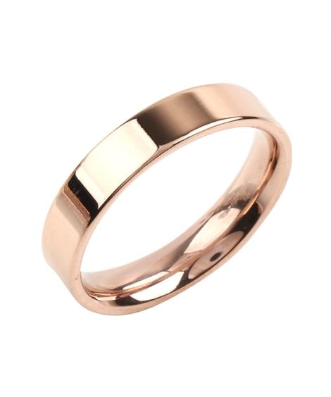 【Creamdot.】色褪せない輝き、4mm幅のステンレス製ペアリング 指輪(リング)