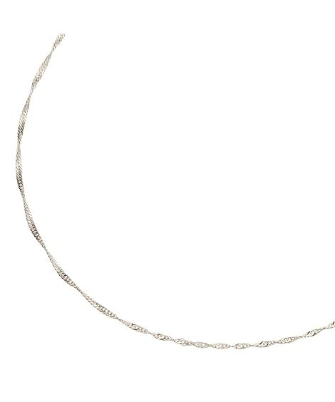【Creamdot.】40ー70cm、選べる8typeのネックレスチェーン ネックレス(ペンダント)