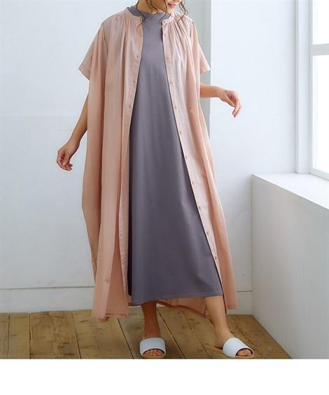 重ねて使えるワンピース2点セット(ギャザー) (ワンピース)Dress