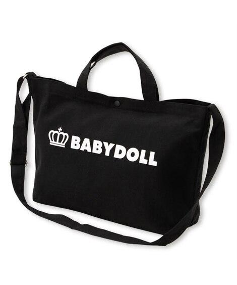 【BABYDOLL】 A4サイズ対応 2way王冠ロゴトートバッグ 1845 トートバッグ・手提げバッグ, Bags