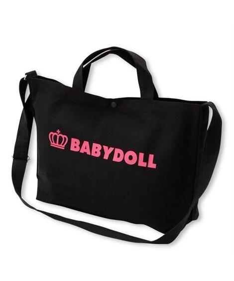 【BABYDOLL】 A4サイズ対応 2way王冠ロゴトート...