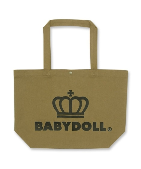 【BABYDOLL】選べる2サイズ 王冠ロゴトートバッグ Mサイズ 7310 トートバッグ・手提げバッグ, Bags