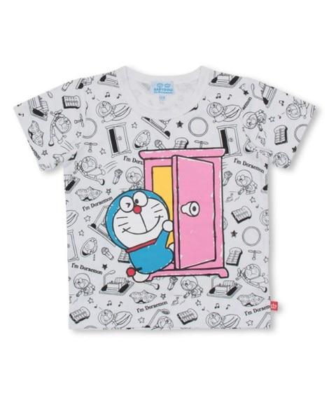 【BABYDOLL】親子お揃い ドラえもん キャラクター総柄Tシャツ 4098K (Tシャツ・カットソー)Kids' T-shirts
