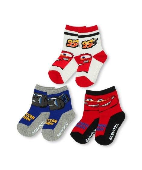 【BABYDOLL】ディズニー クルーソックスセット 4852(13-16cm) キッズ靴下, Kid's Socks