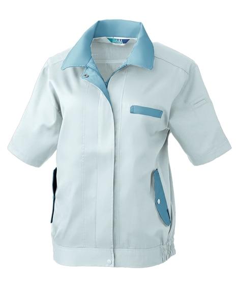 SOWA 412 レディース半袖ブルゾン 作業服, Jump...