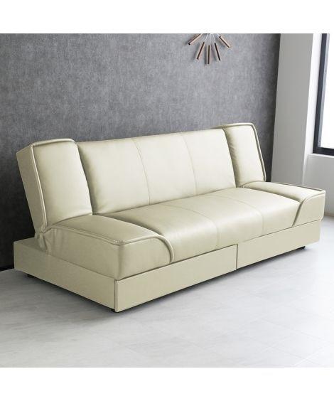 ソフト合皮の引き出し付きソファーベッド ソファー, Sofa...