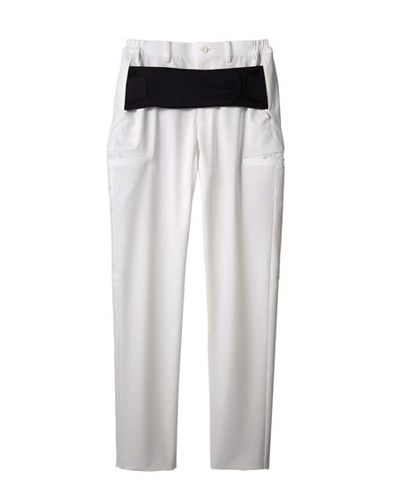MONTBLANC FPB7411 腰ケアパンツ(ベルト付)(男女兼用) ナースウェア・白衣・介護ウェア