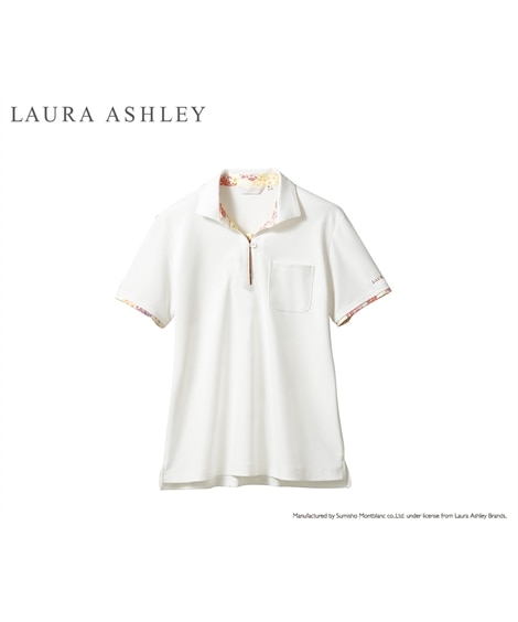 LAURA ASHLEY LW203 ニットシャツ(女性用) ナースウェア・白衣・介護ウェア