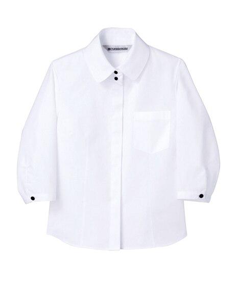 MONTBLANC MC7171 シャツ(7分袖)(女性用) 【業務用】コック服
