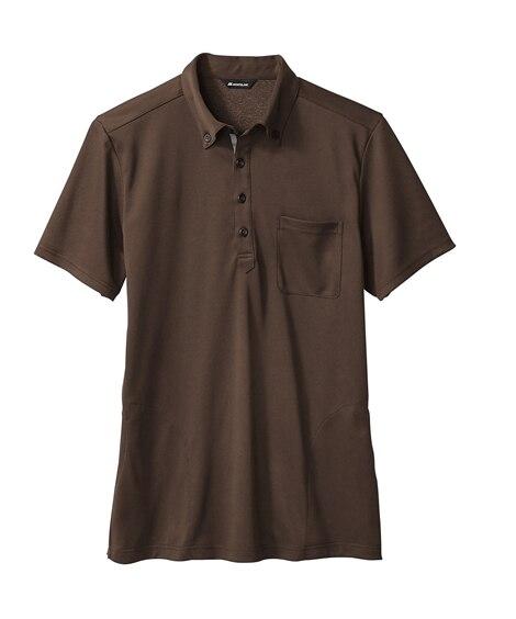 MONTBLANC32-5018ニットシャツ(半袖)(男女兼用) ナースウェア・白衣・介護ウェア