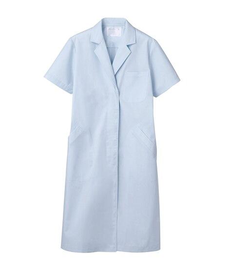 MONTBLANC 51-004 ドクターコート(半袖)(女性用) ナースウェア・白衣・介護ウェア
