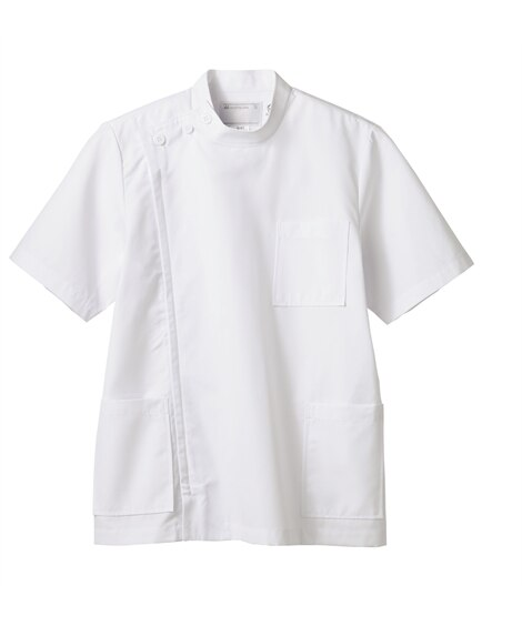 MONTBLANC 52-812 ケーシー(半袖)(男性用) ナースウェア・白衣・介護ウェア