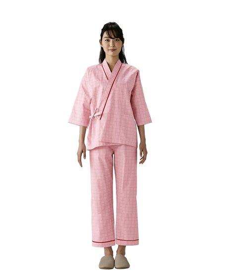 MONTBLANC 59-465 患者衣上衣(8分袖)(男女兼用) ナースウェア・白衣・介護ウェア