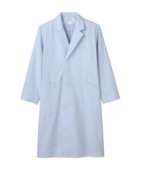 MONTBLANC 71-663 ドクターコート(長袖)(男性用) ナースウェア・白衣・介護ウェア