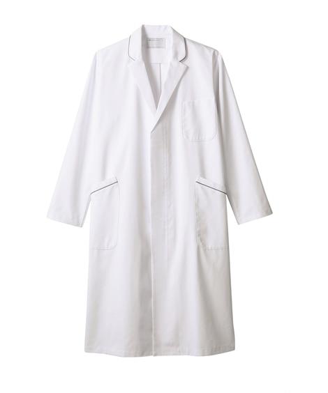 MONTBLANC 71-690 ドクターコート(長袖)(男性用) ナースウェア・白衣・介護ウェア