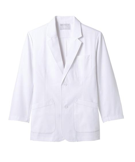 MONTBLANC 71-901 ドクターブレザーS白(長袖)(男性用) ナースウェア・白衣・介護ウェア
