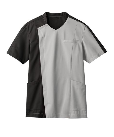 MONTBLANC 72-1271 スクラブ(半袖)(男性用) ナースウェア・白衣・介護ウェア