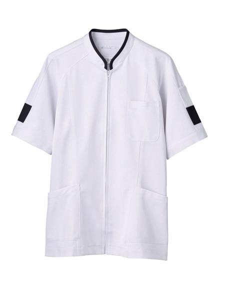 MONTBLANC 72-848 ジャケット(半袖)(男性用) ナースウェア・白衣・介護ウェア