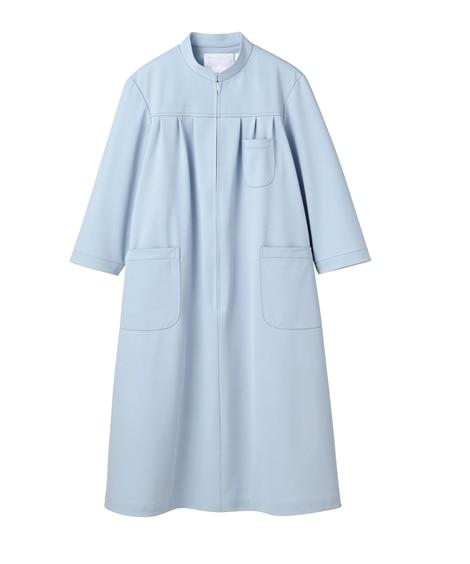 MONTBLANC 73-025 マタニティワンピース(7分袖)(女性用) ナースウェア・白衣・介護ウェア