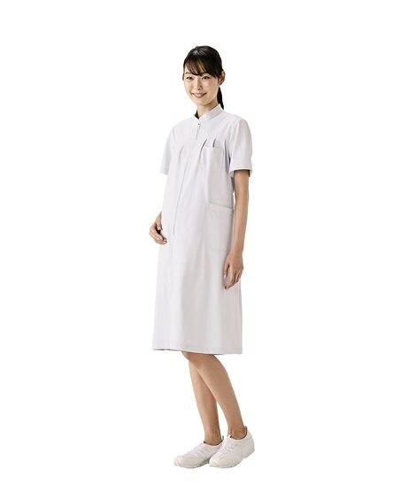 MONTBLANC 73-022 マタニティワンピース(半袖)(女性用) ナースウェア・白衣・介護ウェア