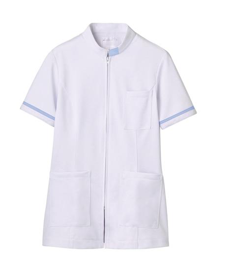 MONTBLANC 73-1284 ジャケット(半袖)(女性用) ナースウェア・白衣・介護ウェア
