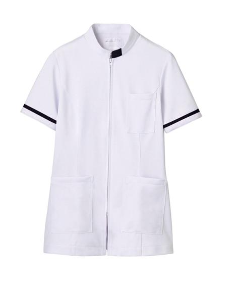 MONTBLANC 73-1288 ジャケット(半袖)(女性用) ナースウェア・白衣・介護ウェア