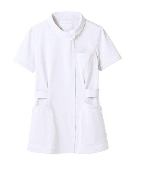 MONTBLANC 73-1482 ナースジャケット(半袖)(女性用) ナースウェア・白衣・介護ウェア