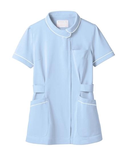 MONTBLANC 73-1486 ナースジャケット(半袖)(女性用) ナースウェア・白衣・介護ウェア
